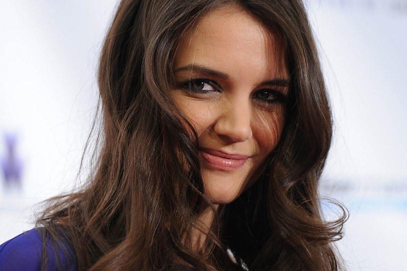 Aktorka promienieje przy koledze z filmu /Getty Images/Flash Press Media