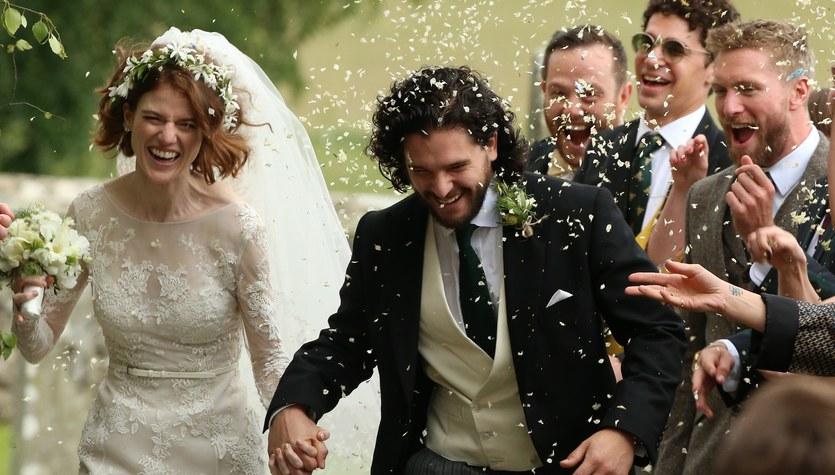 """Aktorzy z """"Gry o tron"""" już po ślubie"""