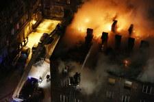 AKTUALIZACJA! Część mieszkańców wróciła do domów po ogromnym pożarze w stolicy