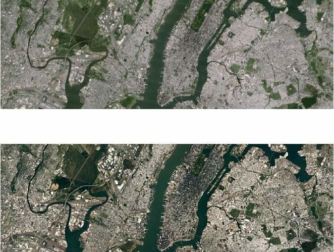 Aktualizacja Map Google - lepsze zdjęcia z satelity. Małe fotografie nie oddadzą wszystkich różnic. Trzeba sprawdzić samemu /materiały prasowe