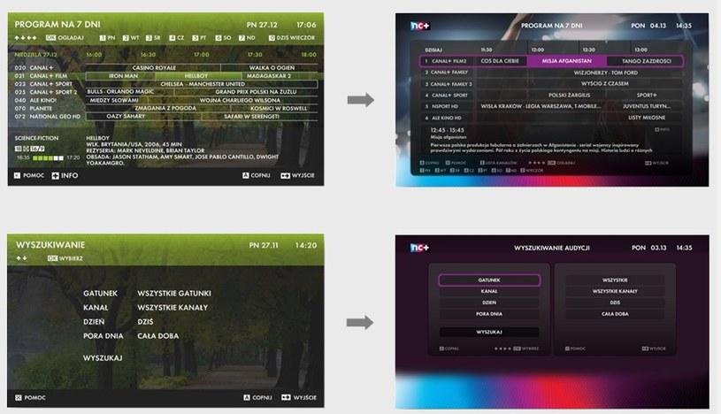 Aktualizacja zmienia m.in. wygląd menu /materiały prasowe