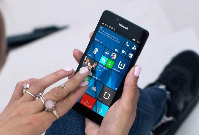 Aktualizacja został udostępniona wszystkim smartfonom z Windows 10 Mobile /materiały prasowe
