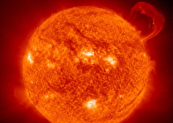 Aktywność słoneczna wpływa na jakość naszego życia /NASA