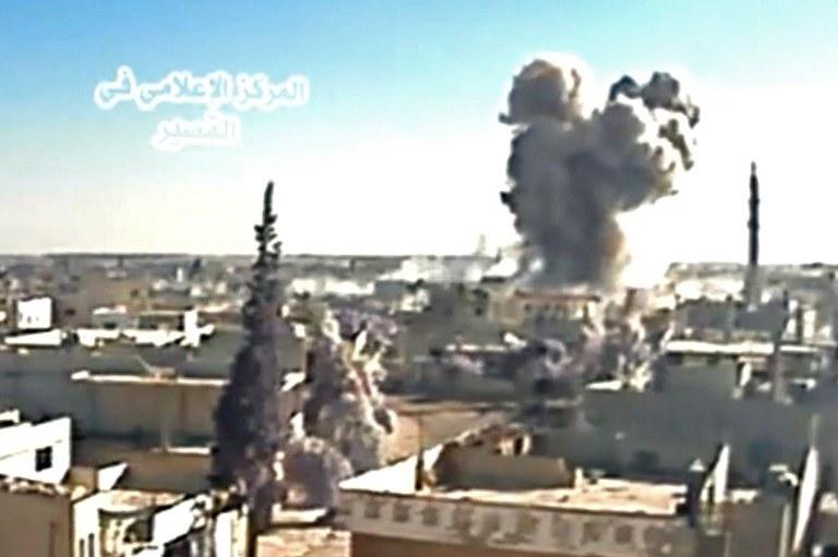 Al-Kusajr na zachodzie Syrii /AFP