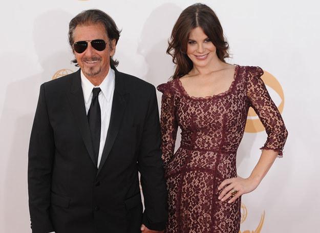 Al Pacino i Lucila Sola /AFP /East News