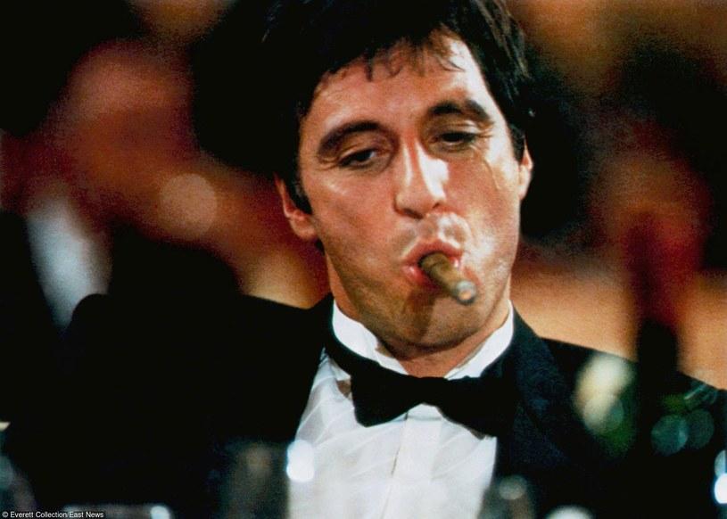 """Al Pacino jako """"Człowiek z blizną"""" /Everett Collection /East News"""