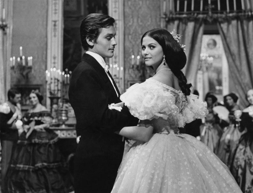 "Alain Delon i Claudia Cardinale w filmie ""Lampart"" Luchino Viscontiego (1962) /Keystone /Getty Images"