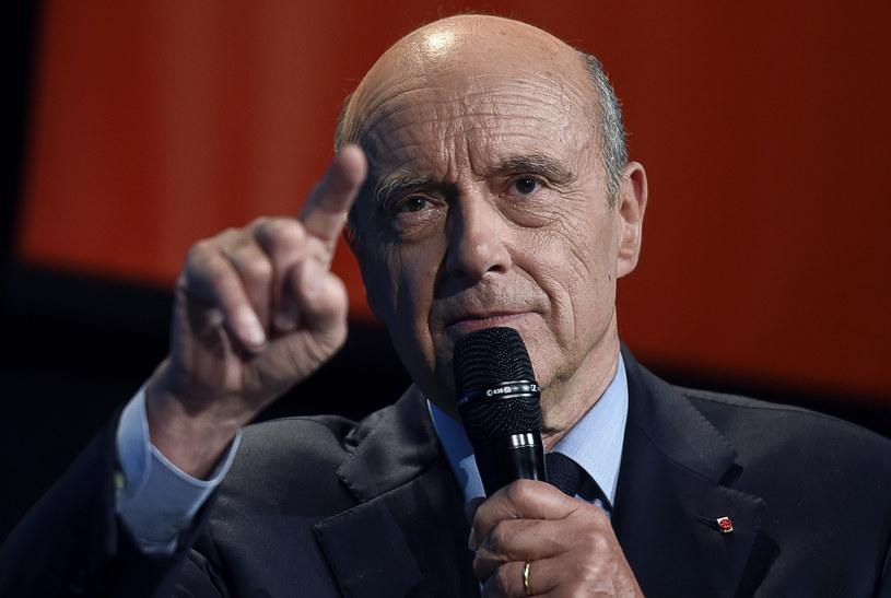 Alain Juppe /AFP