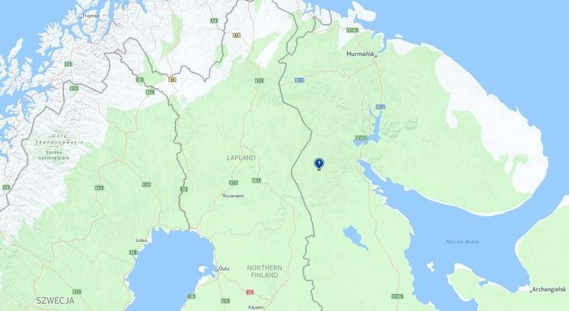 Alakurtti (1), fot. http://mapy.interia.pl /