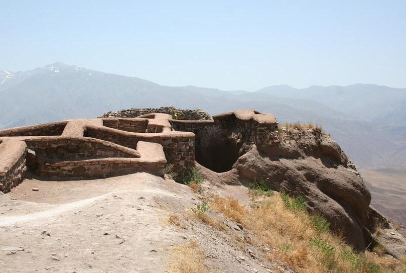 Alamut - jedna z twierdz Asasynów /Wikipedia /materiały prasowe