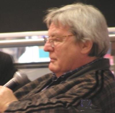 Alan Parker na spotkaniu w Warszawie /INTERIA.PL
