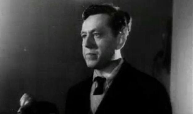Albert Forster w trakcie procesu (fot. Polska Kronika Filmowa) /INTERIA.PL