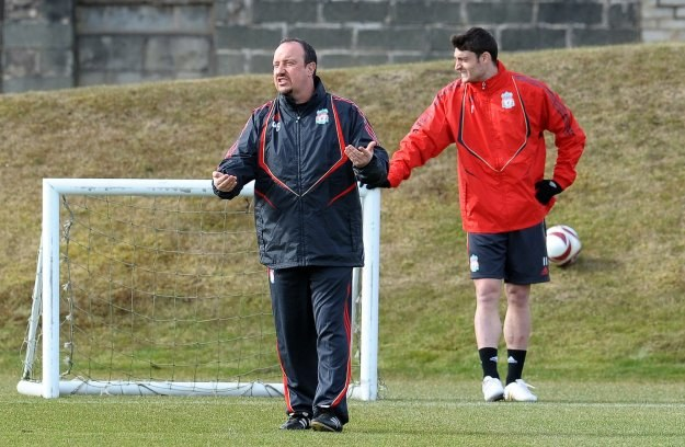 Albert Riera nie dogadywał się z Rafą Benitezem, więc musi odejść z Liverpoolu /AFP