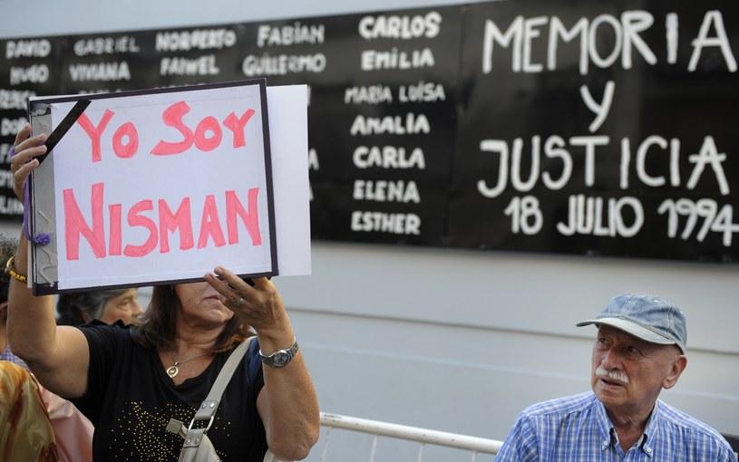Alberta Nismana znaleziono martwego w jego własnym mieszkaniu w nocy z 17 na 18 stycznia /AFP