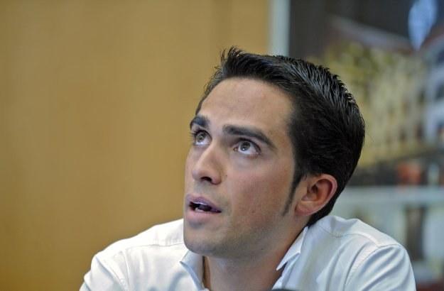 Alberto Contador. /AFP
