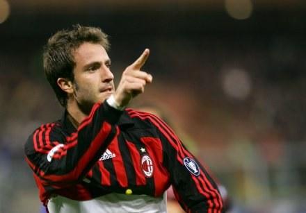 Alberto Gilardino strzelił dwa gole dla Milanu w meczu z Sampdorią /AFP