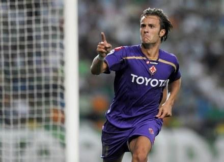 Alberto Gilardino zdobył ważnego gola dla Fiorentiny /AFP