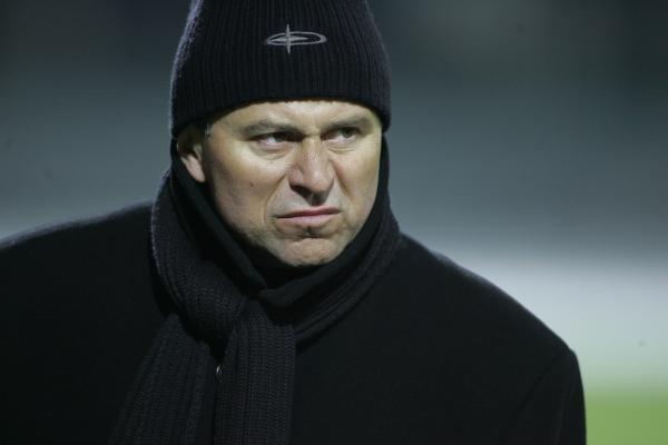 Albin Mikulski, nowy trener Cracovii/fot. Maciej Śmiarowski /Agencja Przegląd Sportowy