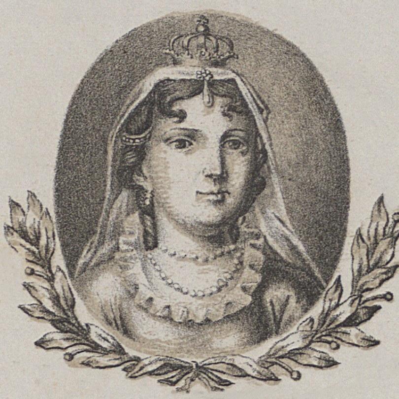Aldona Anna na portrecie według wzoru Michała Stachowicza (domena publiczna) /Ciekawostki Historyczne