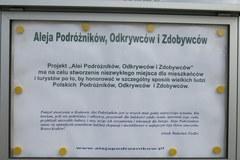 Aleja Podróżników, Odkrywców i Zdobywców w Krakowie otwarta!