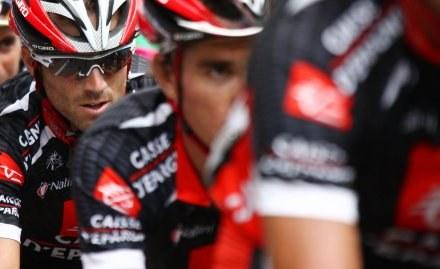 Alejandro Valverde (w okularach) /AFP