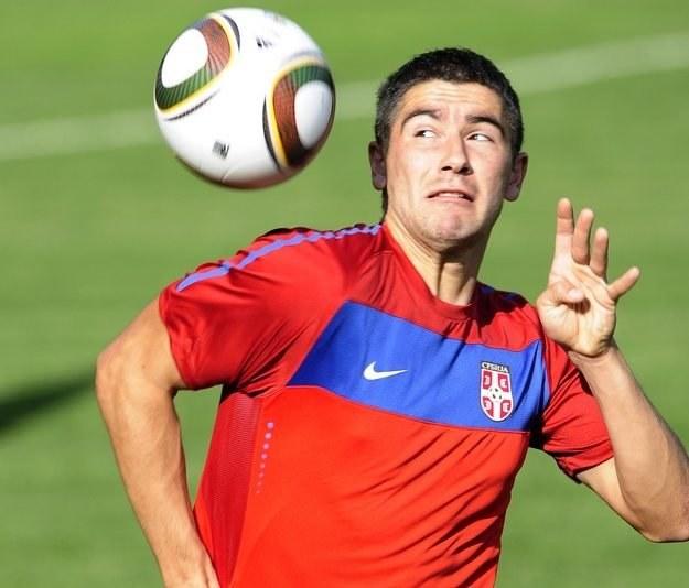 Aleksandar Kolarov - serbski cel transferowy Realu /AFP