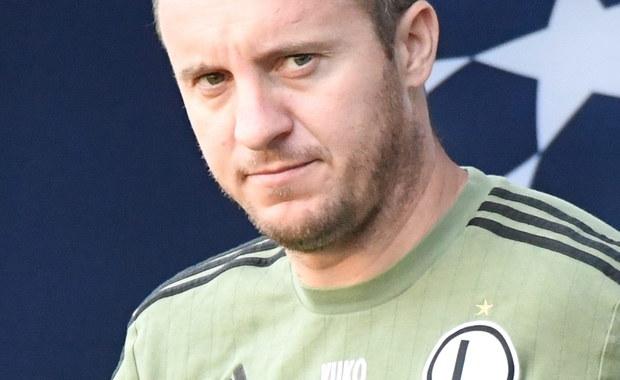 Aleksandar Vukovic tymczasowym trenerem Legii Warszawa