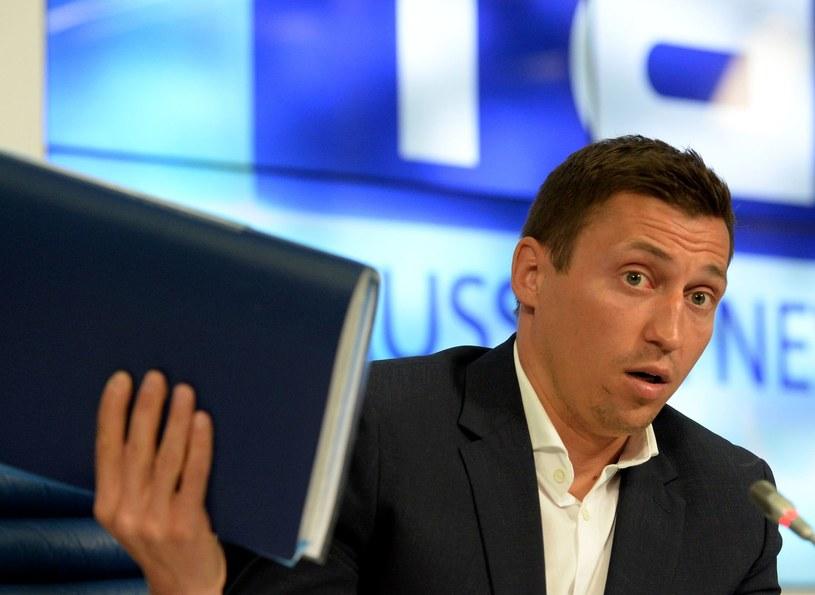 Aleksander Legkow z powodu dopingu stracił medal zdobyty na IO w Soczi. /AFP