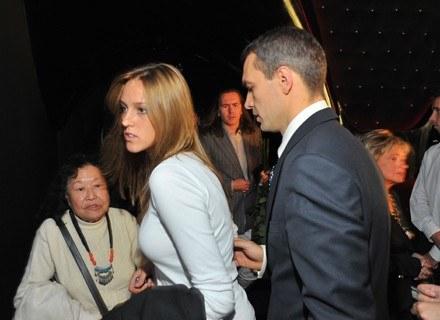 Aleksandra Adamczyk i Michał Żebrowski /Agencja FORUM