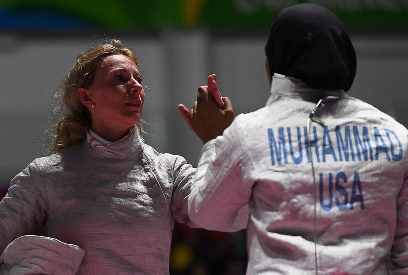 Aleksandra Socha (z lewej) /AFP