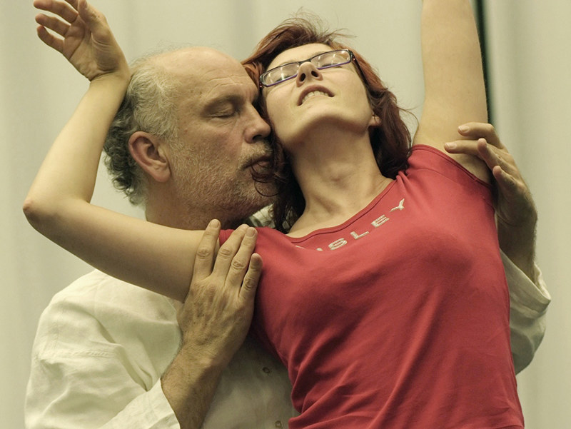 Aleksandra Zamojska i John Malkovich  /© Nathalie Bauer /materiały prasowe