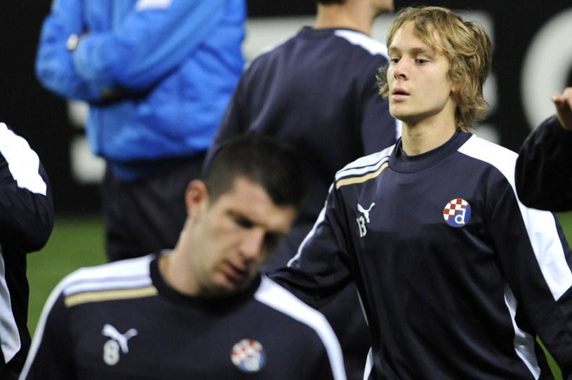 Alen Halilović, piłkarz Dinama Zagrzeb i reprezentacji Chorwacji /AFP