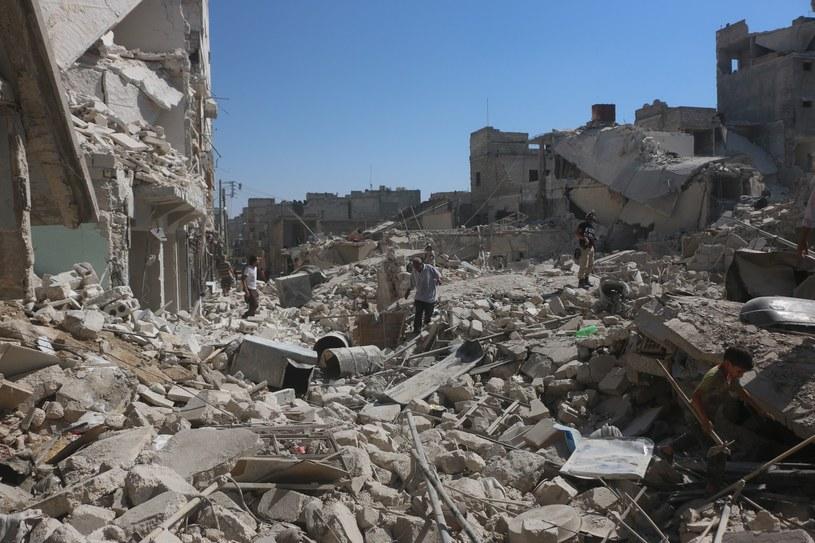 Aleppo, (lipiec 2016 r.) /AA/ABACA /East News