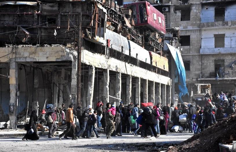 Aleppo, zdj. ilustracyjne /GEORGE OURFALIAN  /AFP