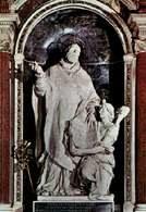 Alessandro Algardi, Święty Filip Neri z aniołem, kościół Santa Maria in Vallicella, Rzym /Encyklopedia Internautica