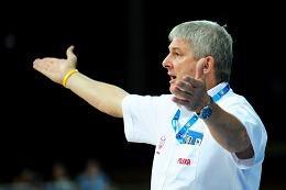 Alesz Pipan, trener koszykarskiej reprezentacji Polski /PAP/EPA
