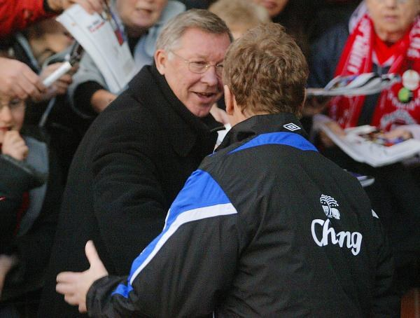 Alex Ferguson nie przejmuje się formą Chelsea /AFP