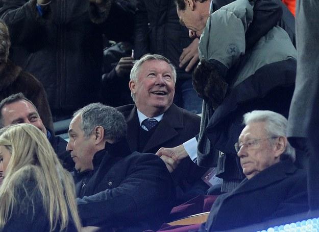 Alex Ferguson przyjechał podglądać Real /AFP