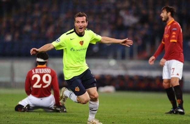 Alexander Frei strzelił gola Romie na Stadio Olimpico /AFP