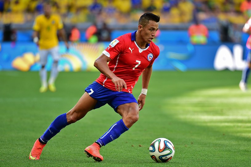 Alexis Sanchez dobrze zaprezentował się na mundialu w Brazylii /AFP