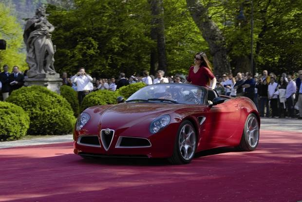 Alfa 8C Spider / Kliknij /INTERIA.PL