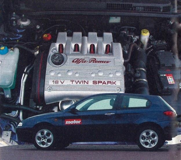 Alfa nie jest nowym samochodem - mimo tego linia nadwozia jest atrakcyjna. /Motor