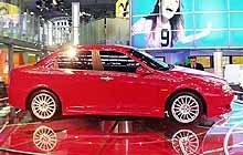 Alfa Romeo 156 GTA we Frankfurcie /INTERIA.PL