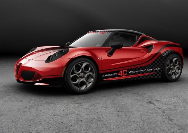 Alfa Romeo 4C Safety Car /