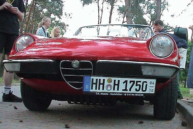 Alfa Spider z 1979 roku (kliknij) /INTERIA.PL