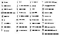 Alfabet Morse'a /Encyklopedia Internautica