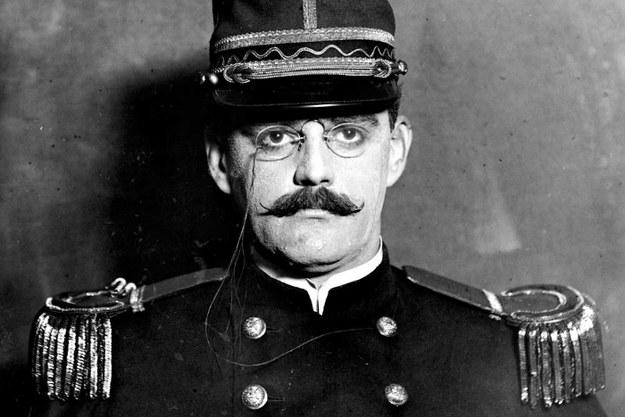 Alfred Dreyfus - bohater afery - w roku 1910 /materiały prasowe