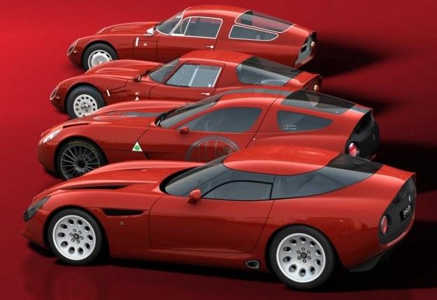 Alfy TZ1, TZ2, TZ3 corsa i TZ3 stradale /