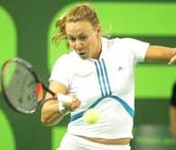 Alicia Molik pokonała w finale Marię Szarapową /AFP