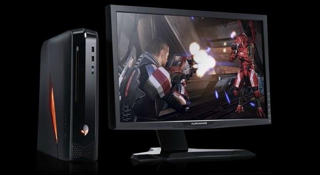 Alienware X51 w zestawie z panoramicznym monitorem /Informacja prasowa